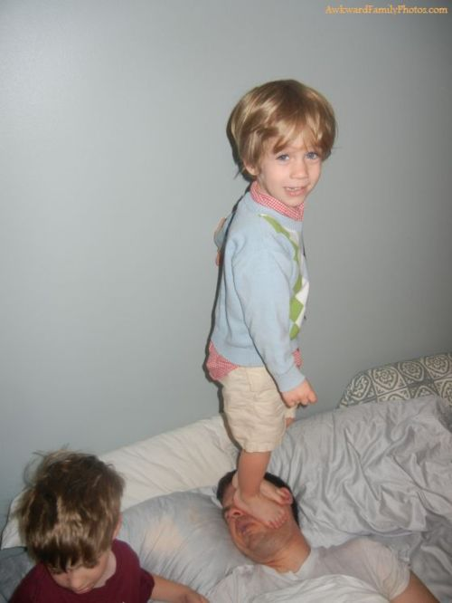 Esa delicada forma de despertarte que tiene el niño