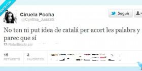 Escribir en catalán es fácil