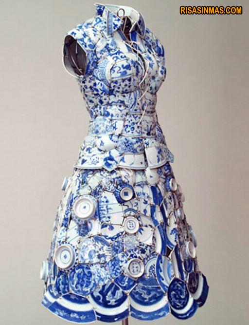 Vestido de porcelana