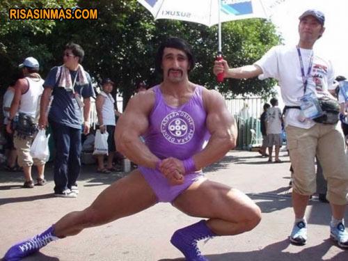 Nuevo superhéroe: Violeta Man