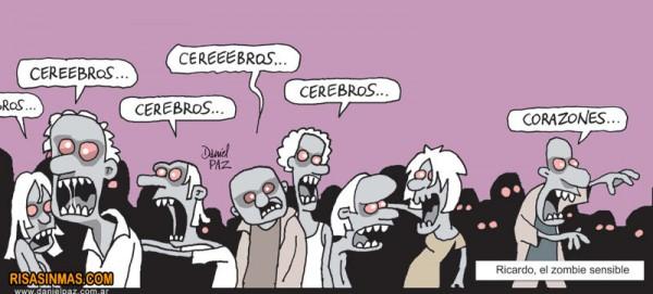 Ricardo, el zombie sensible