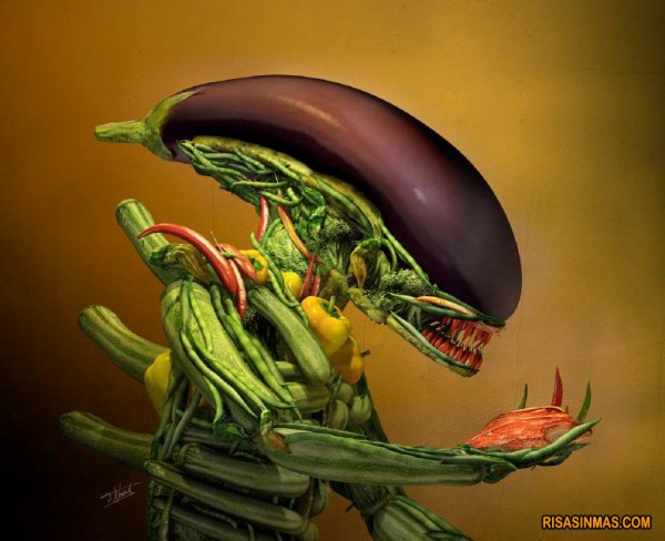 Alien de Arcimboldo