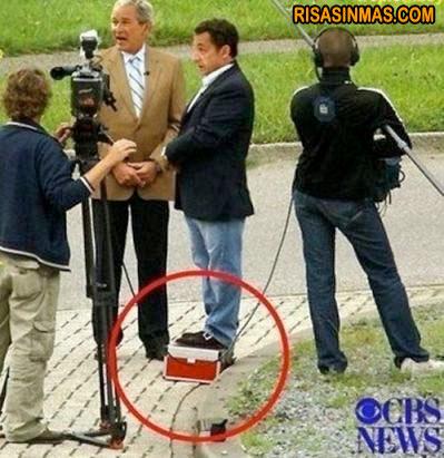 Nicolas Sarkozy ese