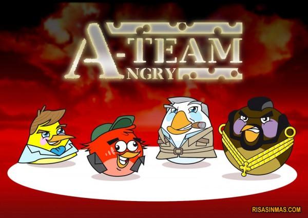 A-Team versión Angry Birds