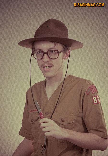 Boy Scout experimentado