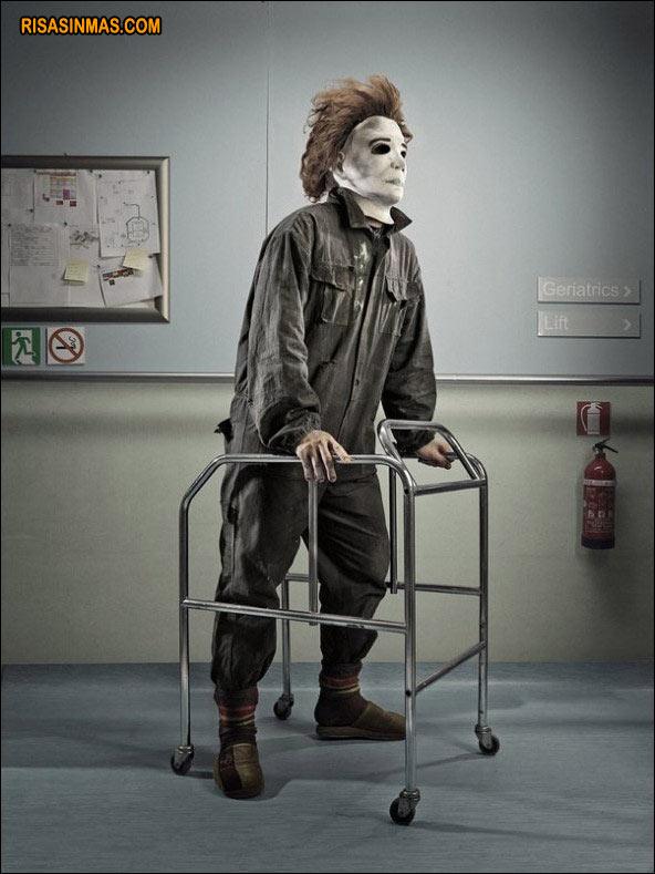Michael Myers (Halloween) en el geriátrico