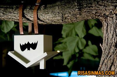 Caseta de murciélagos