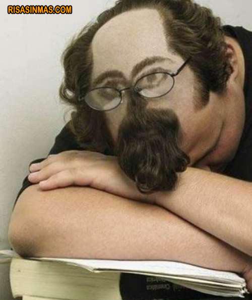 Corte de pelo para dormir en clase