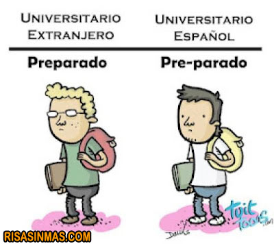 Diferencias entre universitarios
