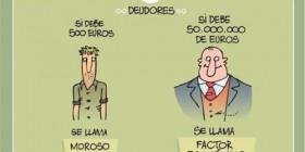 Diferentes tipos de deudores