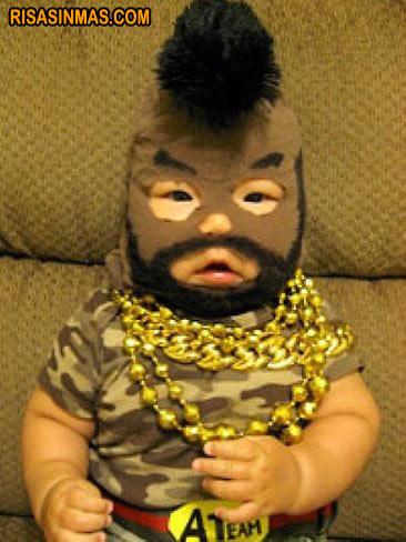 Disfraces de bebé: M.A. del Equipo A