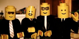 Disfrazados de LEGO