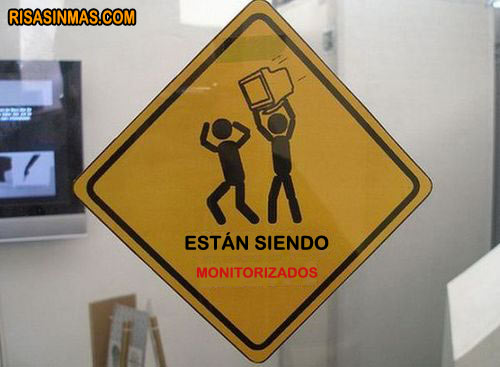 Cartel de advertencia