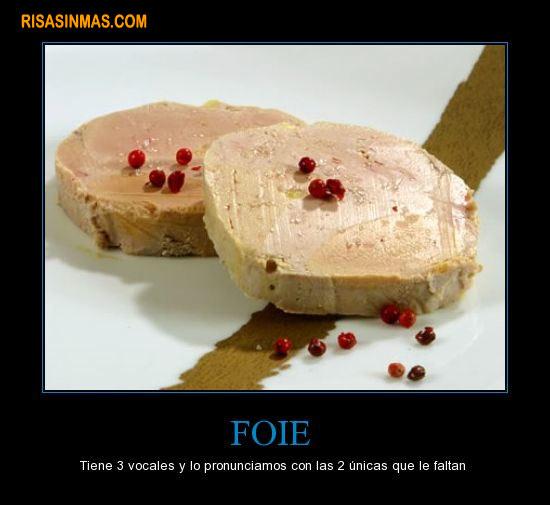 Una de foie