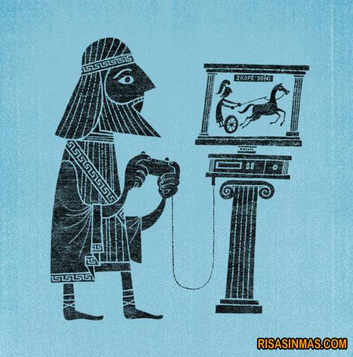 Los griegos ya jugaban a los videojuegos