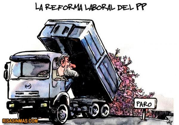 La reforma laboral del PP