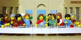 La última cena versión LEGO