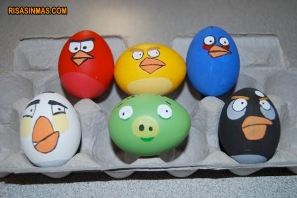 Huevos Angry Birds