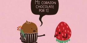 Mi corazón chocolate por ti...