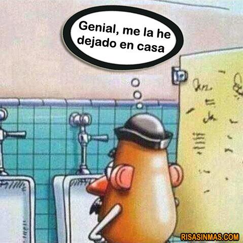 Olvido de Mr. Potato