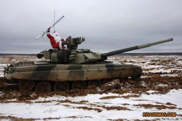 Santa Claus ha llegado a Rusia