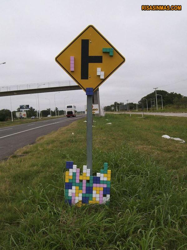 Señal Tetris