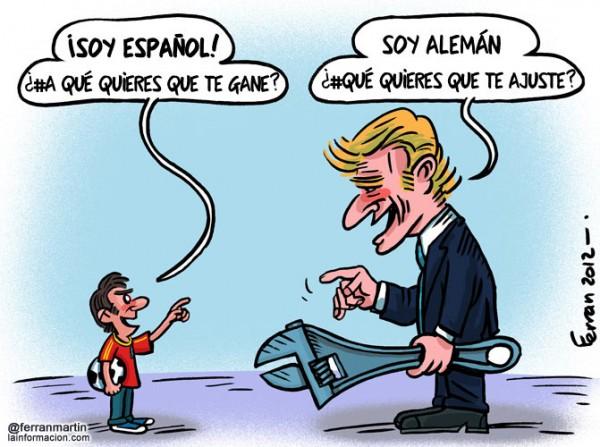 España vs Alemania