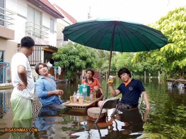 Típica terracita en Tailandia