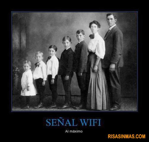 Señal WiFi al máximo