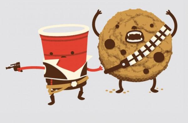 Café Solo y Cookiebacca