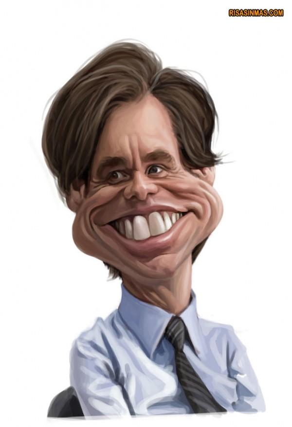 Caricatura de Jim Carrey