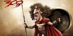 Caricatura de Puyol