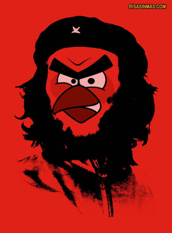 Che Guevara versión Angry Birds