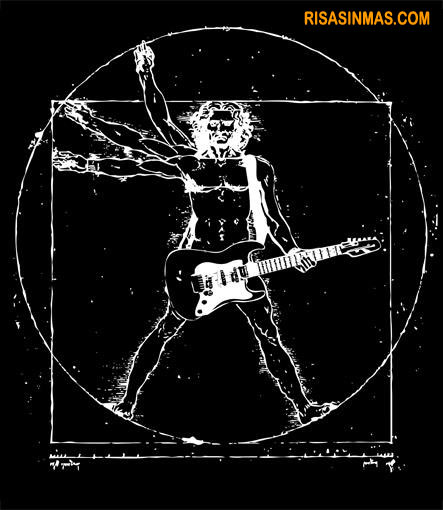 El Hombre de Vitruvio...