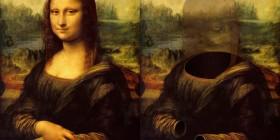 Mona Lisa (La Gioconda) invisible