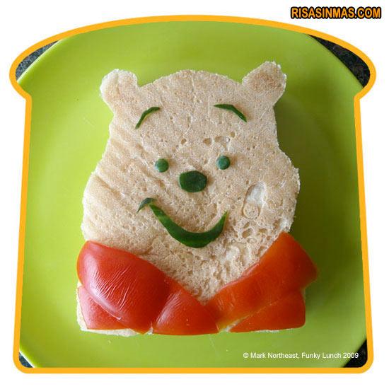 Sándwich Winnie the Pooh