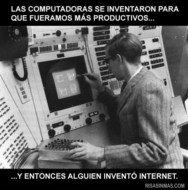 Las computadoras se inventaron para ser más productivos