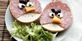 Bocadillo Angry Birds