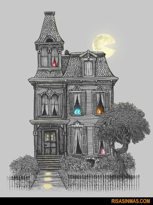 Una casa de fantasmas