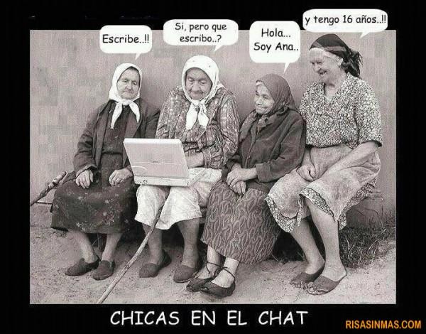 Chicas en el chat