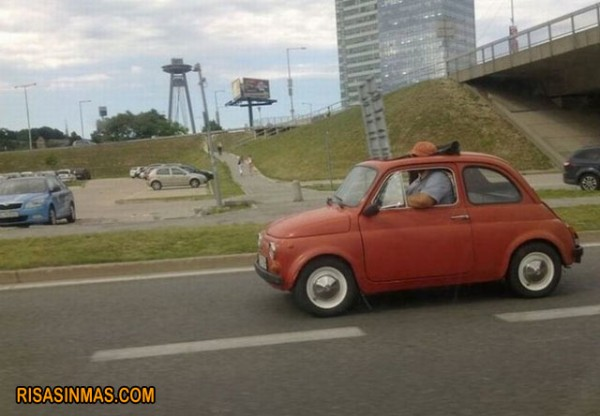 Por eso quería un coche descapotable