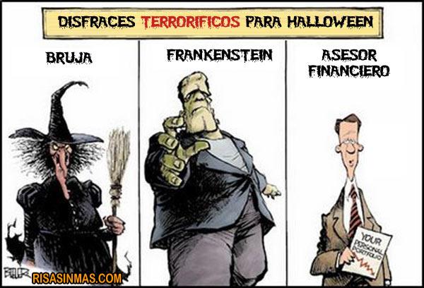 Disfraces terroríficos para Halloween 2012