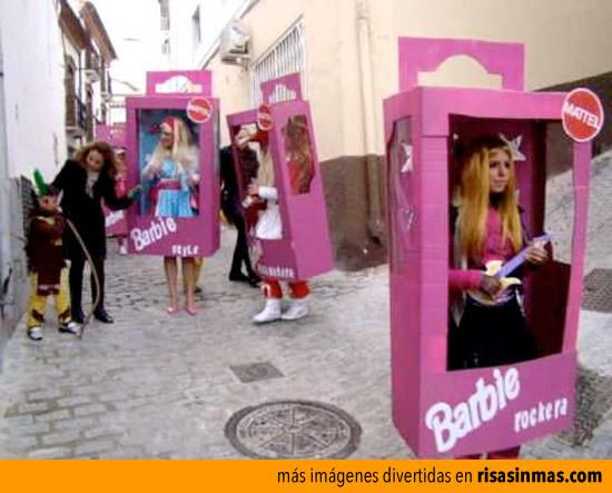 Disfraz de Barbie