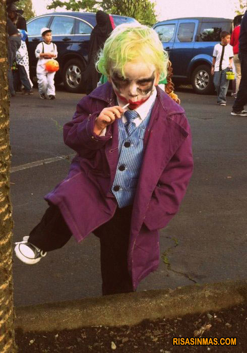 Disfraces de niño: Joker de Batman