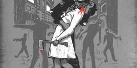 El beso... zombie
