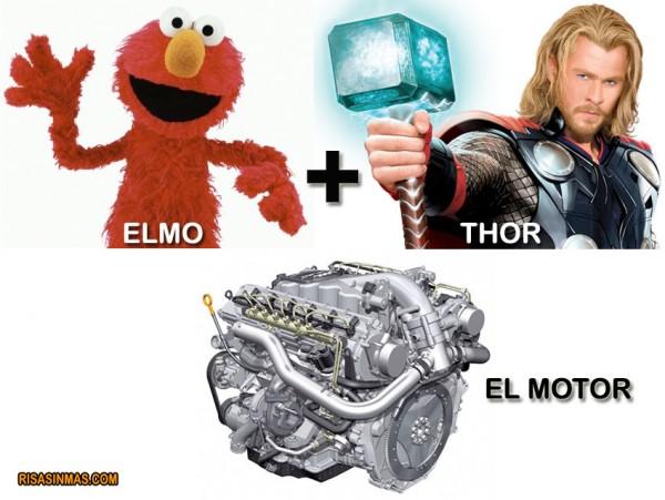 Elmo + Thor
