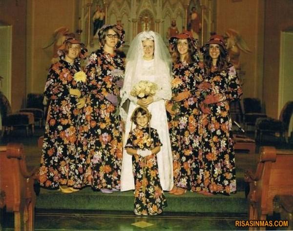Pasatiempo del día: encuentra a las damas de honor