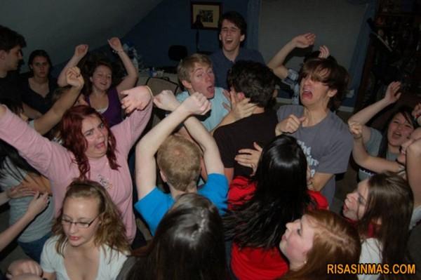 Otra fiesta que se va de las manos
