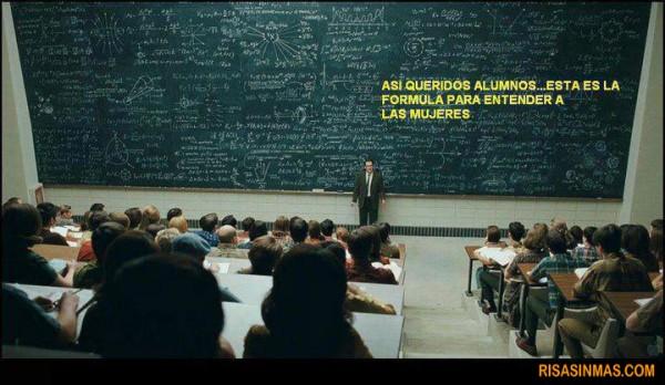 La fórmula para entender a las mujeres