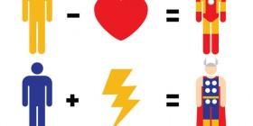 Fórmulas matemáticas de Los Vengadores